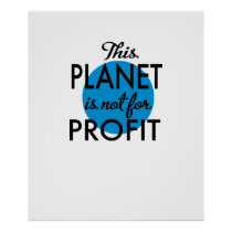 Environmental Protection - planet emergency for Poster