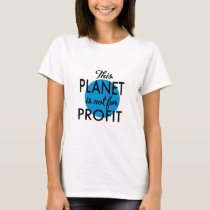 Environmental Protection - planet emergency for T-Shirt