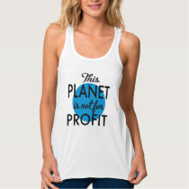 Environmental Protection - planet emergency for Tank Top