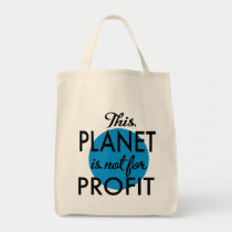 Environmental Protection - planet emergency for Tote Bag