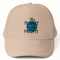 Environmental Protection - planet emergency for Trucker Hat
