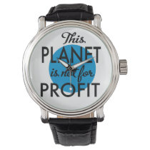 Environmental Protection - planet emergency for Watch