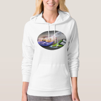 Environmental Protection Sea Turtle & Ship Picture Hoodie