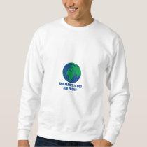 environmental protection sweatshirt