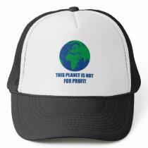 environmental protection trucker hat