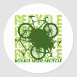 Environmental reCYCLE Classic Round Sticker