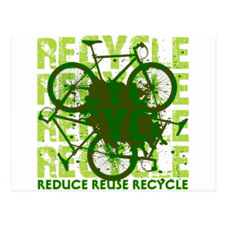 Environmental reCYCLE Postcard