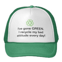 Environmental Recycling Hat