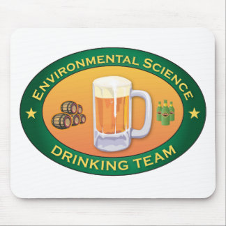 Environmental Science Drinking Team Mouse Pad