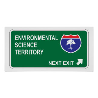 Environmental Science Next Exit Poster