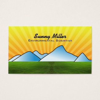 Environmental Scientist Business Cards