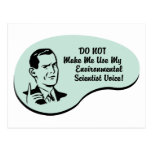 Environmental Scientist Voice Postcard