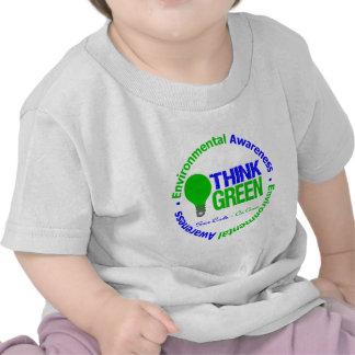 Environmental THINK GREEN Bulb Shirt