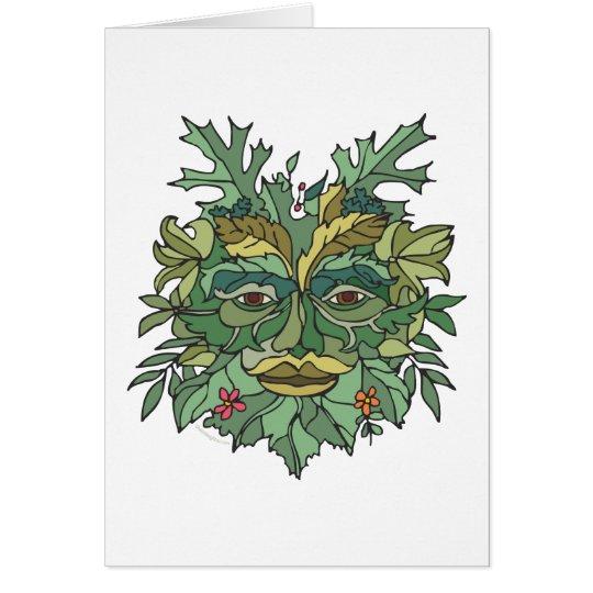 Environmental Tree Hugger Card