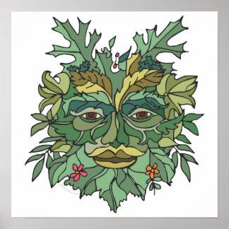Environmental Tree Hugger Print