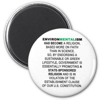 Environmentalism 2 Inch Round Magnet
