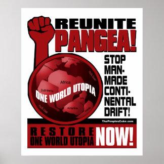 Environmentalism - júntese Pangea!: Proteste el po Póster