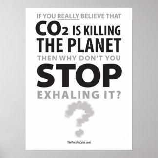 Environmentalism - parada que exhala: Poster de la