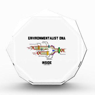 Environmentalist DNA Inside (DNA Replication) Acrylic Award