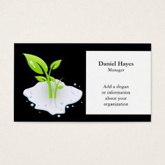 Environmentalist Green Business Cards