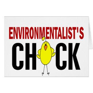Environmentalist's Chick Card