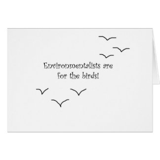 environmentalists greeting cards