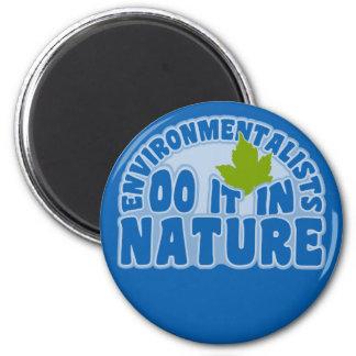 Environmentalists magnet