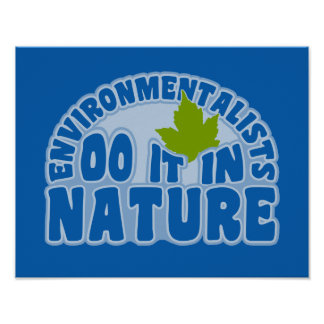 Environmentalists poster