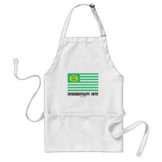 Environmentalists Unite! (Ecology Flag Theta) Adult Apron