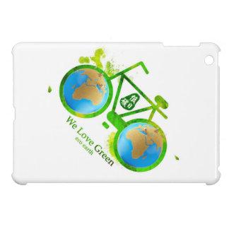 Environmentally eco-friendly green bike ipad case
