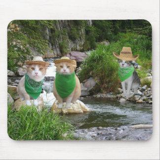 Environmentally Friendly Cats Mouse Pad