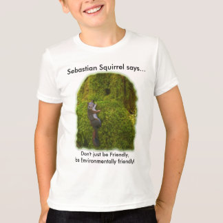 ENVIRONMENTALLY FRIENDLY Kids Tees