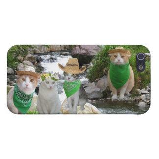Environmentally Friendly Kitties iPhone SE/5/5s Cover