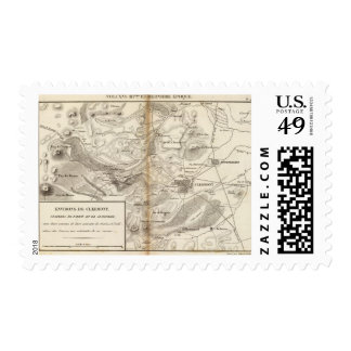 Environs de Clermont Postage Stamp