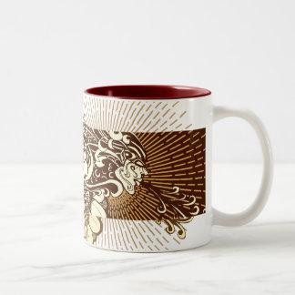 ENVIROWIND-003, ENVIROWIND-Shape-002 Two-Tone Coffee Mug