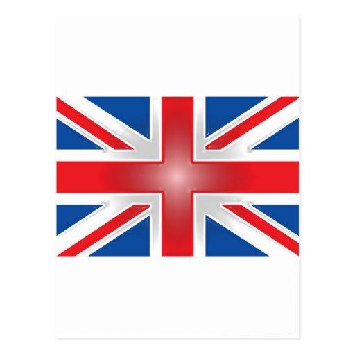 Envoltorio de plástico Union Jack Tarjetas Postales