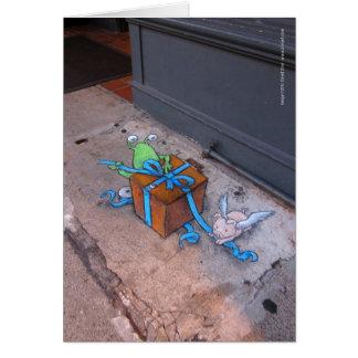 Envoltorio para regalos Sluggo Tarjeta De Felicitación