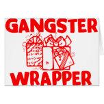 Envoltura del gángster felicitaciones