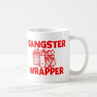 Envoltura del gángster tazas de café