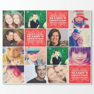 Envoltura preferida del regalo de las fotos del papel de regalo