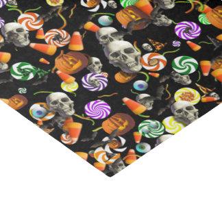 Envolviendo el tejido - confeti espeluznante de papel de seda pequeño