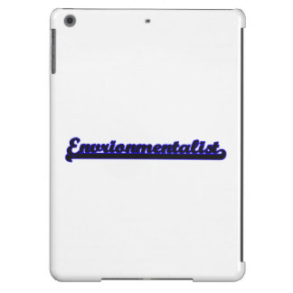 Envrionmentalist Classic Job Design iPad Air Covers