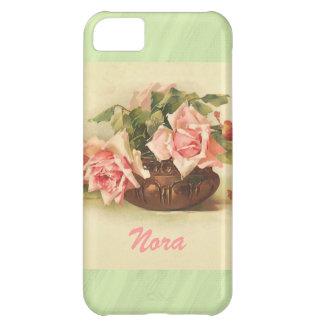 Envuelto alrededor de rosas funda iPhone 5C