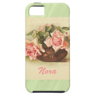 Envuelto alrededor de rosas funda para iPhone SE/5/5s