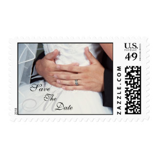 Envuelto en reserva del monograma del amor el sellos