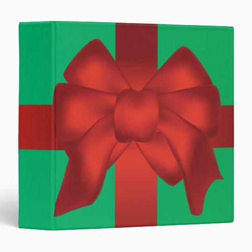 """envuelto para el cuaderno del navidad carpeta 1 1/2"""""""