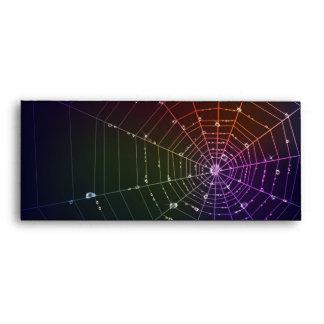 Envuelva con la línea de la araña