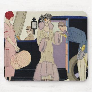 Envy, 1914 (pochoir print) mouse pad