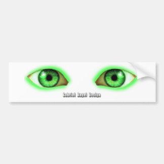 Envy Eyes Bumper Sticker