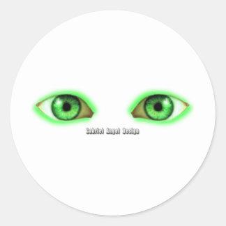 Envy Eyes Classic Round Sticker